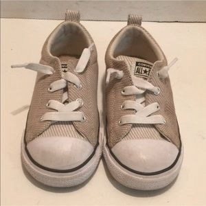 CONVERSE ALL STAR Kids UNISEX Sneaker Tan TWILL 9